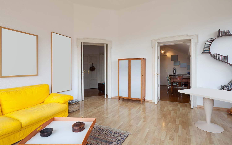 Salon d'un appartement parisien