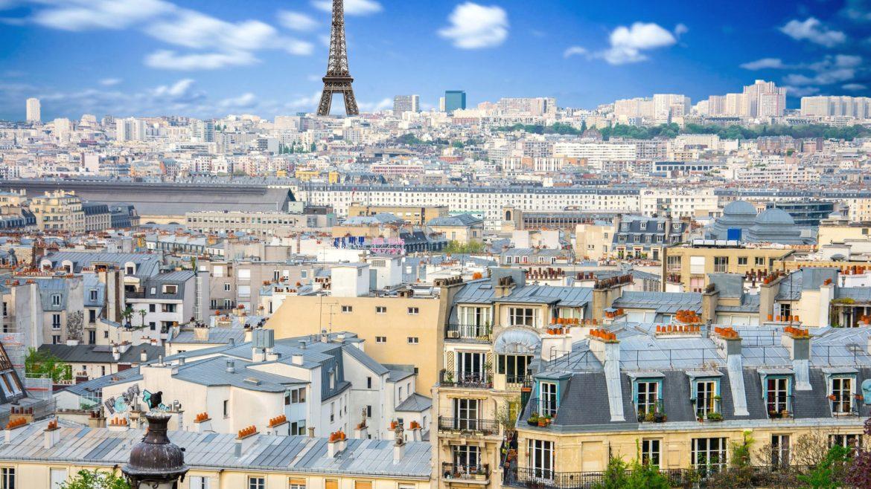 Vue panoramique de Paris