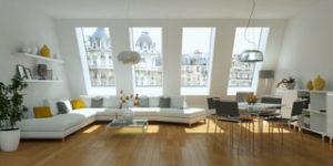Appartement Parisien avec vue sur immeuble haussmanniens