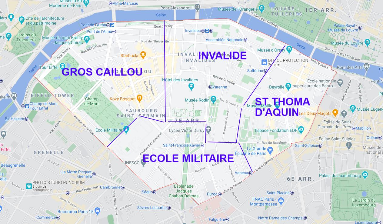 7ÈME ARRONDISSEMENT DE PARIS