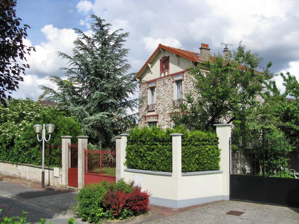 Maison en banlieue parisienne